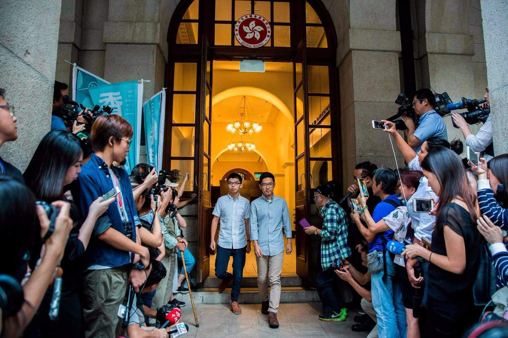 Hong Kong Protest Leaders Are Freed on Bail to Pursue Appeal