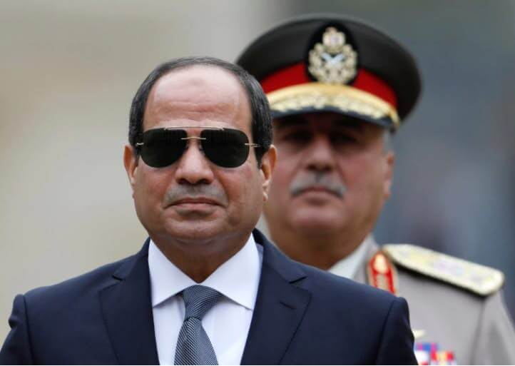 In Egypt, a strongman's only challenger is barely campaigning